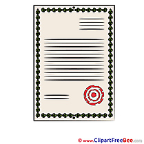 Certificate Pics printable Cliparts