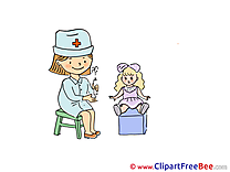 Doll Doctor Clipart free Image download