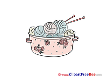 Embroidery Clipart free Illustrations