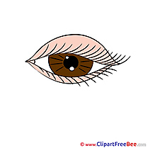 Eye free printable Cliparts and Images