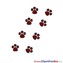Paws free printable Cliparts and Images