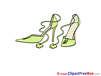 Shoes Cliparts printable for free