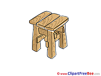 Stool Clipart free Image download