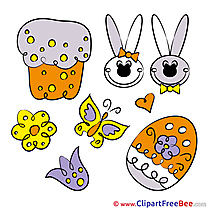 Cake Hare Easter free Images download