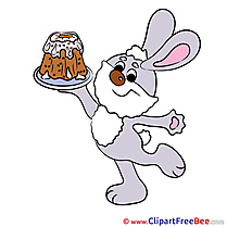 Cake Hare Pics Easter free Cliparts