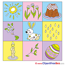 Decoration Cliparts Easter for free