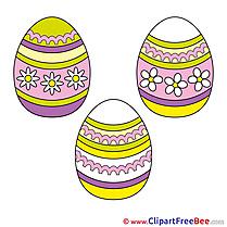 Easter Eggs Illustrations for free