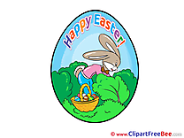 Egg Hare printable Easter Images