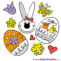 Holiday Eggs Pics Easter Illustration