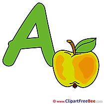 Abc clip art (English)