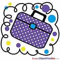 Backpack Pics School Illustration