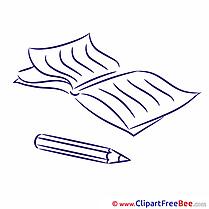 Copybook free Cliparts School
