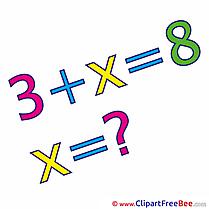 Equation Math download School Illustrations