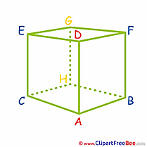 Geometric Cube Clipart School free Images
