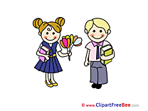Happy Teacher's Day free Illustration School
