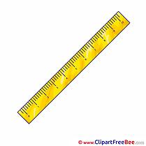 Ruler free Cliparts School