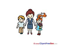 Schoolteacher download Illustration