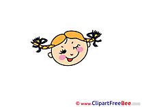 Beautiful Girl Pics Emotions free Image