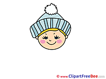 Confused Girl Clip Art download Emotions