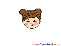 Free Girl Cliparts Emotions
