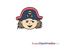 Free Pirate Illustration Emotions