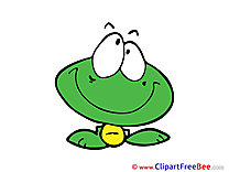 Frog dreaming download Clipart Emotions Cliparts