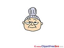 Grandma free Cliparts Emotions