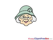 Grandmother free Illustration Emotions