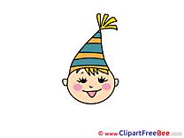 Holiday Boy Pics Emotions Illustration