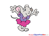 Mouse happy Emotions download Illustration