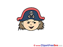 Pirate printable Emotions Images