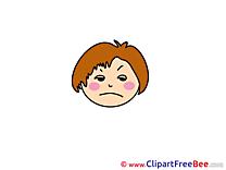 Sad free Illustration Emotions