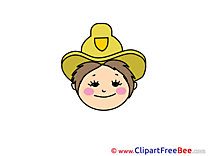 Sheriff Cliparts Emotions for free