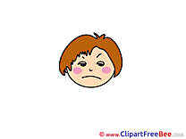 Sorrowful download Emotions Illustrations
