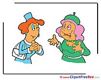 Talking Clipart Emotions Illustrations