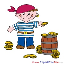 Money Pirate Gold download Clipart Fairy Tale Cliparts