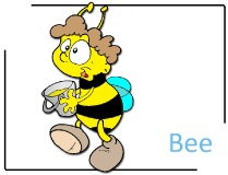 Bee Clipart Image free - Farm Cliparts free