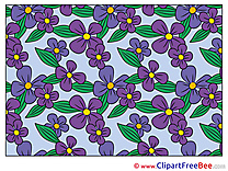 Clipart Filed Flowers free Images