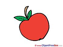Apple download printable Illustrations