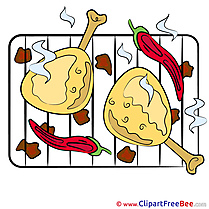 Barbecue Cliparts printable for free