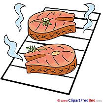 BBQ download printable Illustrations