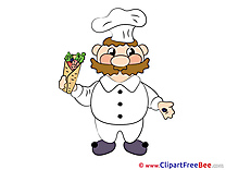 Clipart free Cook Image download
