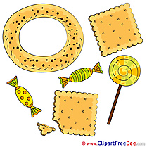 Cookies Candies free printable Cliparts and Images
