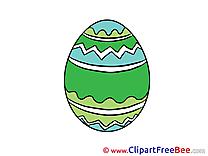 Easter Egg Clipart free Illustrations