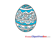 Easter Egg free printable Cliparts and Images