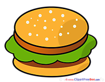 Hamburger Clipart free Illustrations