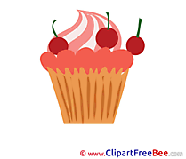 Muffin Cliparts printable for free