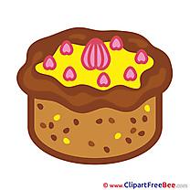 Pastry printable Illustrations Birthday