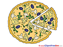 Pizza download printable Illustrations