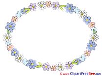 Circle Clipart Frames Illustrations